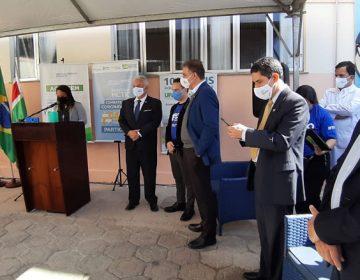 Almas participa de lançamento de projeto para testes de tratamento da Covid-19 em JF
