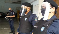 Guarda Municipal recebe equipamentos de enfrentamento ao Coronavírus