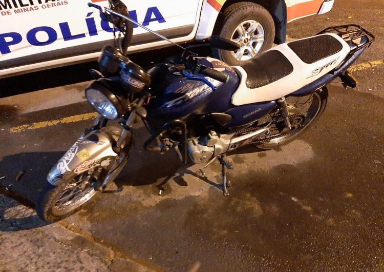 Jovem é preso por furtar motocicleta no Bairro Santa Rita