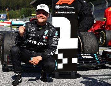 Na primeira corrida do ano, Bottas vence na Áustria