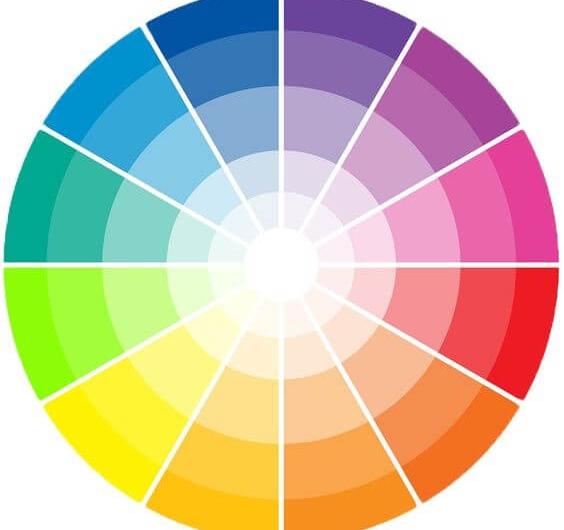 Combinando as cores