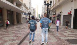 Fiscais da Prefeitura fiscalizam vistorias em filas de agências bancárias