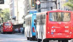 Linhas de ônibus coletivo serão reforçadas nesta segunda-feira