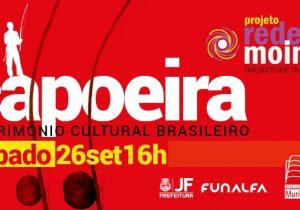 Projeto discute ancestralidade e desafios da capoeira como patrimônio cultural