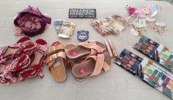 Guarda Municipal impede furto em loja de calçados