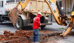 Remodelação de redes de esgoto no Bairro Bairu já está…