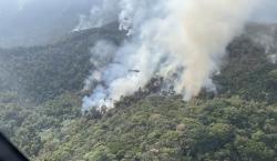 Incêndio no Parque Estadual do Ibitipoca é controlado pelos Bombeiros