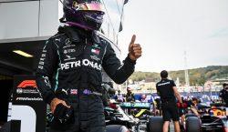 Rumo ao recorde de Schumacher, Lewis Hamilton faz a pole…