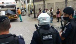 Guarda Municipal atende ocorrência de agressão física na Rua Mister…