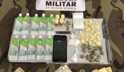 Três indivíduos são presos por envolvimento em tráfico de drogas…