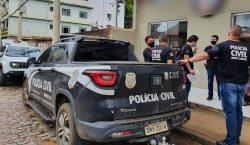 Policiais civis de Minas Gerais e do Distrito Federal cumpriram…