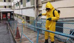 Descontaminação contra coronavírus ultrapassa 40 operações