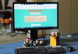 Atividade estimula crianças na criação de conteúdos sobre o Museu