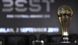 FIFA divulga nomes dos atletas nomeados ao prêmio 'The Best'