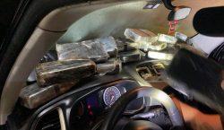 Veículo transportando base de cocaína e 2 Kg de maconha…