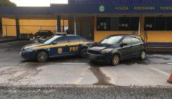 PRF recupera veículo furtado, com placas de Belo Horizonte, durante…