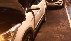 PM apreende veículo roubado, vindo do Rio de Janeiro
