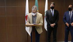 Romeu Zema participa de cerimônia de posse administrativa do novo…