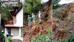 Empav finaliza trabalhos em barranco no Bairro Santa Helena