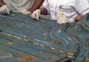 Museu Mariano Procópio inicia restauro de peças dos séculos 18 e 19