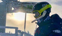 Michel Macedo conquista duas medalhas no esqui alpino em Waterville…