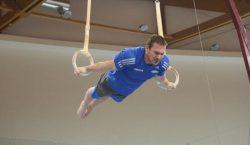 Seleção de ginástica artística masculina faz estágio de treinamento no…