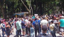 Lojistas protestam pela saída de Juiz de Fora do Minas…