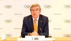 Presidente do COI, Thomas Bach, nega rumores e volta a…
