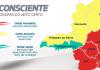 Taxa de incidência segue em alta e Comitê Covid-19 mantém dez regiões na onda vermelha do Minas Consciente