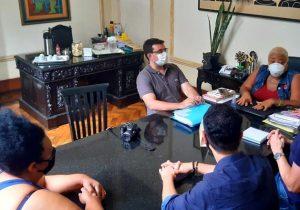 Comitiva da Prefeitura de Ponte Nova faz visita técnica à Funalfa