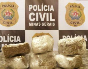 Operação da Polícia Civil resulta na apreensão de drogas em linha férrea