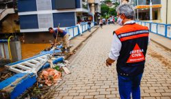 Romeu Zema garante apoio para reconstrução de Carangola, na Zona…