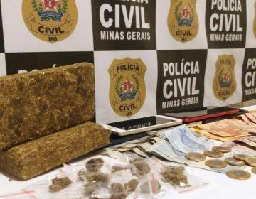 Polícia Civil de Minas Gerais prende seis suspeitos e apreende drogas em operação de combate ao tráfico no bairro Teixeiras