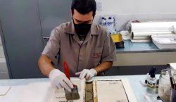 Ações de conservação e restauro garantem integridade do acervo do…