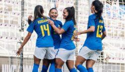 Seleção feminina sobe para sétimo no ranking da Fifa e…
