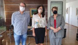 Representante do Senge-MG  realiza visita à Prefeita Margarida Salomão