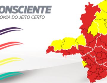Norte e Sudeste têm melhora nos indicadores e avançam para a onda amarela do Minas Consciente