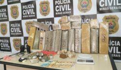 Polícia Civil prende três homens por tráfico de drogas em…