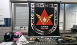 Polícia Militar prende autores de roubo no bairro Parque São…