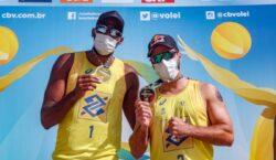 Duplas olímpicas conquistam a última etapa Open da temporada no Rio de Janeiro