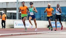 Yeltsin Jacques bate índice nos 5.000m em nova classe e com revezamento de guia durante a seletiva paralímpica