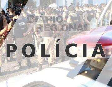 Durante Operação Alferes Tiradentes, Polícia Militar prende homem com mandado de prisão em aberto e apreende arma de fogo no bairro Vila Esperança II