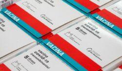Minas Gerais recebe 26º lotes de vacinas contra covid-19
