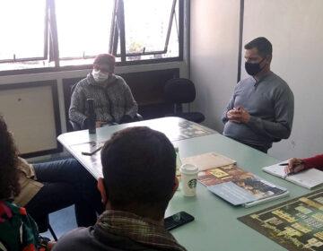 Diretores da Aban apresentam projetos em reunião na PJF