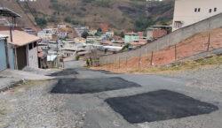 Empav realiza recomposição asfáltica no bairro Vitorino Braga