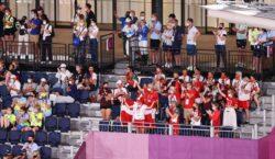 Delegações barulhentas compensam ausência de torcedores na Olimpíada