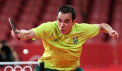 Calderano é eliminado nas quartas de final do tênis de…