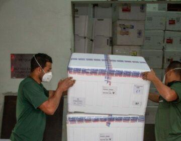 Agilidade orienta distribuição de mais de 878 mil doses de vacinas contra covid-19