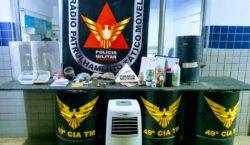 Polícia Militar prende autores por tráfico de drogas no bairro…
