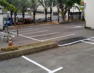 SMU revitaliza sinalização de trânsito do HPS